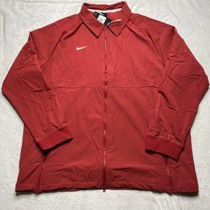 Nike  JACKET Men XXL 2XL Rust Orange Full Zip